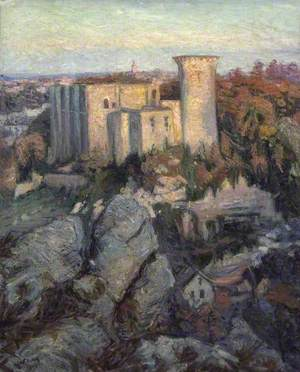The Castle of Falaise (Evening) (Le Château de Falaise (soir))