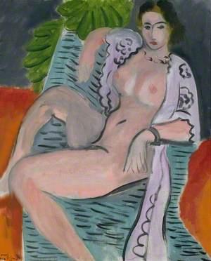 Draped Nude (Femme nue drapée)