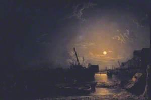 Greenwich Reach, Moonlight