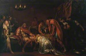 Priam Pleading with Achilles for the Body of Hector