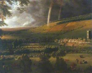 Landscape with Rainbow, Henley-on-Thames