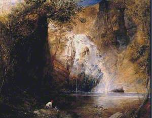 The Waterfalls, Pistil Mawddach, North Wales