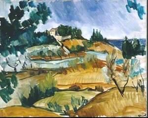 Landscape near Martigues