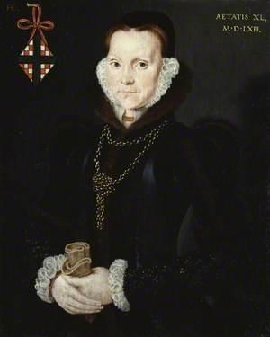 Portrait of Elizabeth Roydon, Lady Golding