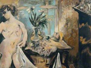 Interior with a Nude and a Still Life