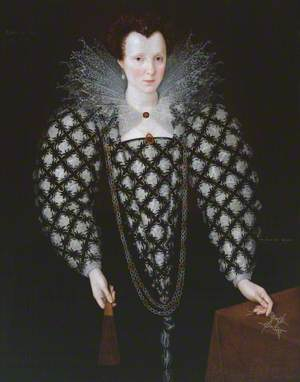 Portrait of Mary Rogers, Lady Harington