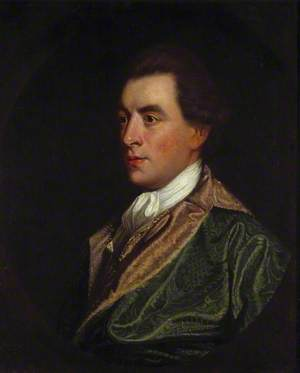 Portrait of a Gentleman in a Green Robe