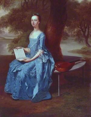 A Lady in Blue