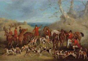 The Belvoir Hunt: The Death