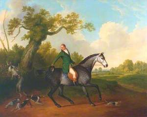 Jonathan Griffin, Huntsman to the Earl of Derby's Staghounds
