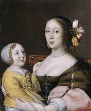 A Lady of the Grenville Family and her Son