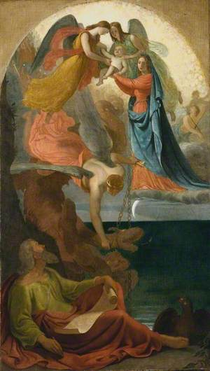 The Infant of the Apocalypse Saved from the Dragon