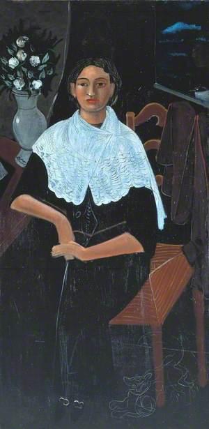 Madame Derain in a White Shawl (Madame Derain au châle blanc)