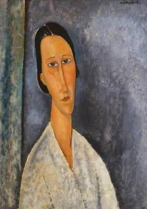 Madame Zborowska (La Zborowska en buste)