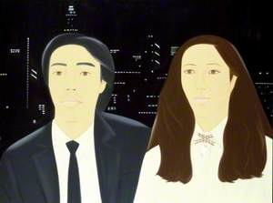 Hiroshi and Marcia