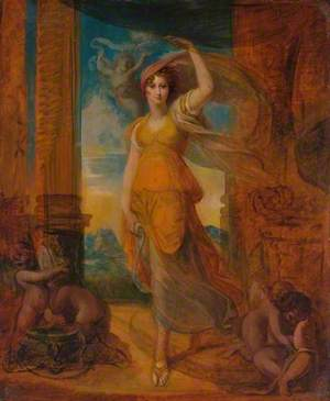 A Lady (? Harriet Mellon) as a Sibyl
