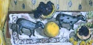 Still Life with Sheep (Stilleben mit Schafen)