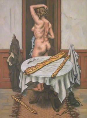 Nude with Loaves (Dos aux pains)