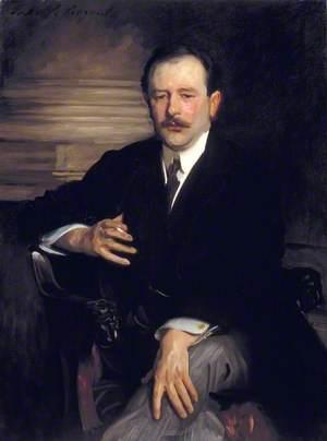 Portrait of Robert Mathias