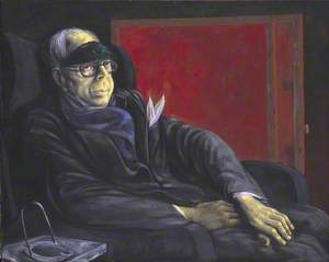 Portrait of Wyndham Lewis