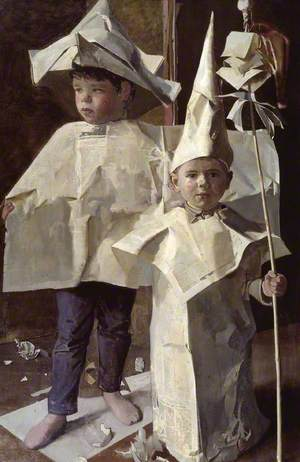 The Newspaper Boys