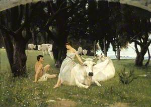 The Wooing of Daphnis