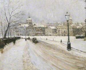 Whitehall in Winter