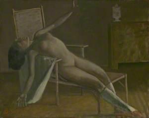 Nude on a Chaise Longue (Nu sur une chaise longue)