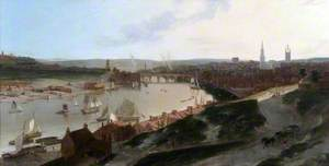 View of Newcastle upon Tyne, Taken from a Windmill to the East of St Ann's