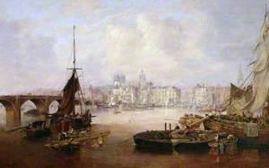 The Mayor's Barge on the Tyne