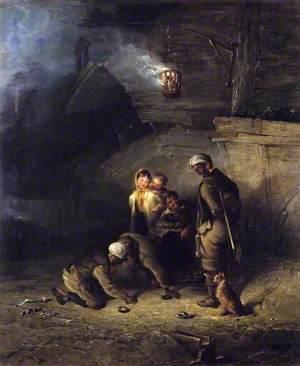 Pitmen Playing Quoits
