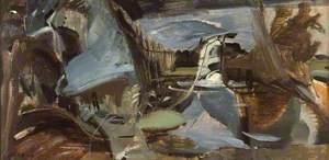 Terwick Mill, No. 7, Splashing Fall
