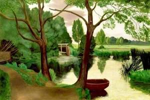 Mill Pond Evening