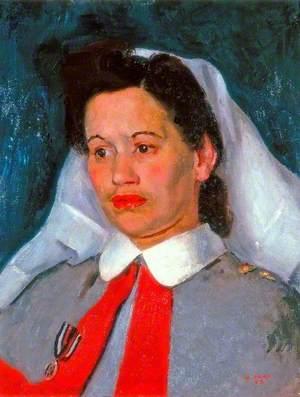 Sister Edna Morris, Queen Alexandra's Imperial Military Nursing Service