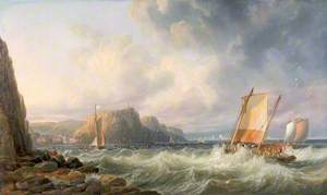 Off the Yorkshire Coast, Staithes