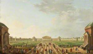 View of the Projected Foro Bonaparte, Milan 1800