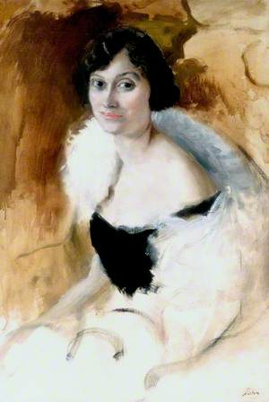 The White Feather Boa (Lady Elizabeth Asquith, 1897–1945)