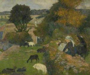 The Breton Shepherdess