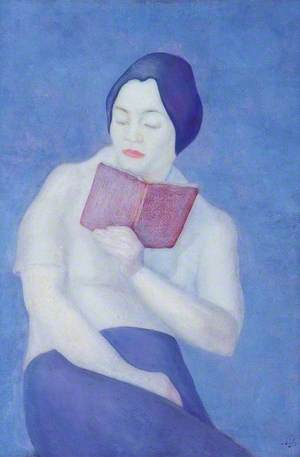 Lady Reading a Book