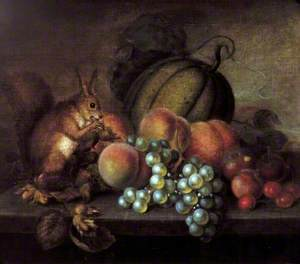Study of Fruit with Squirrel