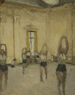 Women in a Gymnasium