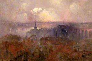 Newcastle upon Tyne from the East