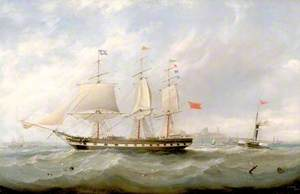 Tynemouth with Shipping