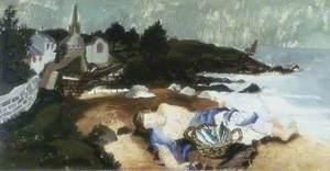 Sleeping Fisherman, Ploaré, Brittany