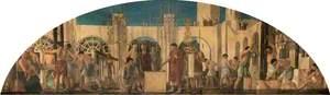 The Building of Hadrian's Bridge (Pons Aelii) over the Tyne, c.122 AD