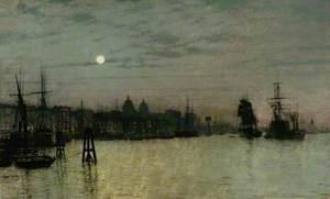 Greenwich, Half Tide