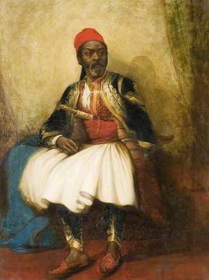 Portrait of a Moor in National Costume