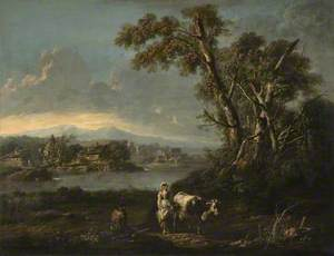 A Landscape with a Milkmaid