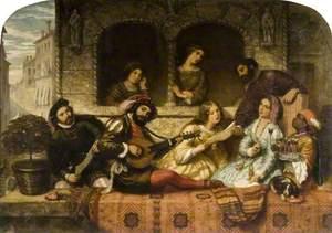 Venetian Balcony Scene
