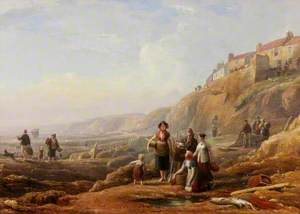 Old Cullercoats, Spate Gatherers